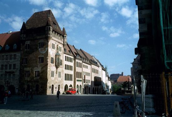 centre of Nuremberg