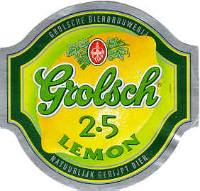 grolsch 2.5 lemon